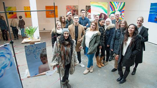 A Side of Yours - Vernissage der Ausstellung im Glashaus