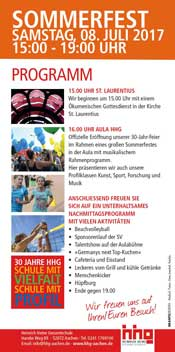 Sommerfest Flyer 2 Icon